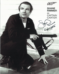 Shane Rimmer Shane Rimmer Scott Tracy THUNDERBIRDS, Bond, Star Wars, Genuine Autograph 10X8 9135